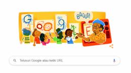 Google Doodle Tampilkan Tino Sidin, Siapa Ya Dia?