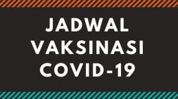 Infografis Jadwal Vaksinasi Covid-19