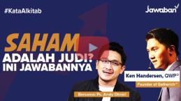 [VIDEO] #KataAlkitab: Saham Adalah Judi atau Investasi? Ini Jawabannya!