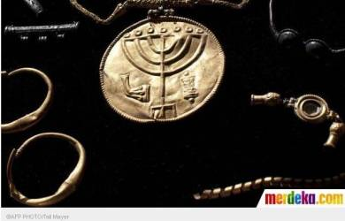 Koin Emas Berlambang Yahudi Ditemukan di Masjid Aqsa