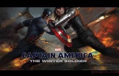 Captain America VS The Winter Soldier