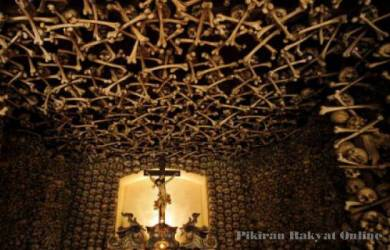 Kapel Ribuan Tengkorak di Polandia