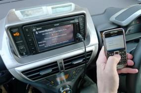 2015, Mobil Dinyalakan dengan Ponsel