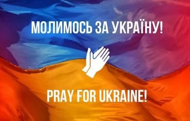 Gereja Serukan Perdamaian Bagi Ukraina