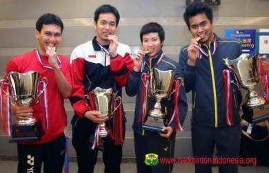 Indonesia Sabet Dua Gelar Juara di All England 2014