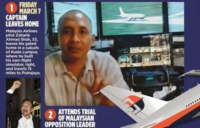 Inilah Spekulasi Pilot Bajak Pesawat MH370