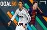 Daftar 10 Besar Pesepakbola Teratas Pemenang Goal 50 2013