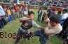 Takanuy, Festival Natal 'Berkelahi' di Peru