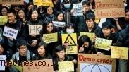 Gereja Libatkan Diri Dalam Demonstrasi Pelajar Hong Kong