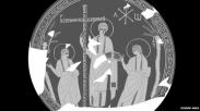Arkeolog Spanyol Temukan Gambar Yesus Muda Ini