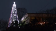 Pohon Natal Kontroversi Korsel Kembali Dipasang
