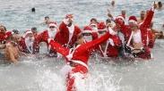 Dewan Kota Larang Tradisi Natal Berenang Massal di Pantai Brighton