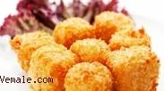 Resep Cemilan Sehat : Tahu Goreng Dibalut Keju dan Ayam