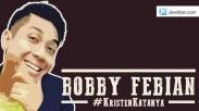 Album 'Kristen Katanya' Bobby Febian yang Nyelekit