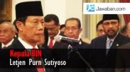 Resmi Jadi Kepala BIN, Sutiyoso Janji Junjung Tinggi Netralitas