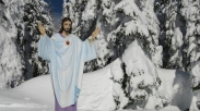 Patung Bersejarah Yesus Tetap Diizinkan Berdiri di Gunung Montana
