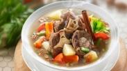 Resep Sop Kaki Kambing Kuah Susu Sehat