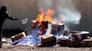 Buat Ulah Lagi, ISIS Bakar Ratusan Alkitab di Irak