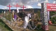 Jelang Paskah, Manado Adakan Perlombaan Hias Taman Paskah Ini