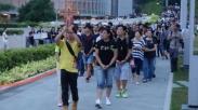 Umat Kristen Hong Kong Tolak Diskriminasi Agama di Tiongkok