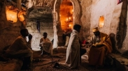 Ethiopia Miliki Gereja Unik yang Berada di Atas Gunung