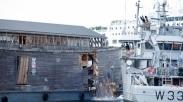 Ditabrak, Replika Bahtera Nuh di Norwegia Rusak Parah