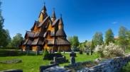Duh…Uniknya Gereja Tua Heddal Stave Norwegia Ini