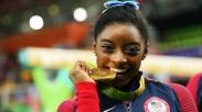 Kisah Getir di Balik Hidup Simone Biles, Si Pemborong Medali Emas Rio