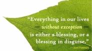 Mengubah Tragedi Menjadi Berkat