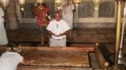Tempat Pembaringan Yesus Diperlihatkan Setelah Ratusan Tahun Terkubur