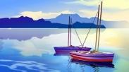 Dua Perahu Dayung