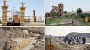 Dipenuhi Ranjau Darat, Gereja-gereja di Sungai Yordan Akan Dibersihkan