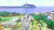 Menara Gereja Setinggi 35 Meter Ini Jadi Simbol Agama Jayapura