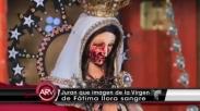 Patung Bunda Maria Argentina Ini Menangis Selama Pra-Paskah, Kog Bisa?