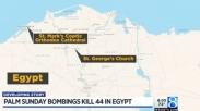 Minggu Palma Mesir Diwarnai Serangan Bom di Dua Gereja Koptik, ISIS Akui Jadi Pelaku!