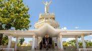 Menatap Patung Kristus Raja di Ketinggian Langit Saumlaki Maluku