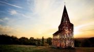 Belgia Ternyata Punya Gereja Tembus Pandang Unik Ini Loh!
