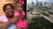 Sedih! Ibu Ini Rela Mati Demi Selamatkan Putri Kecilnya saat Badai Harvey