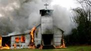 Maksud Hati Hendak Renovasi Buat Natal, Gereja Bethel Gorontalo Ini Malah Ludes Terbakar