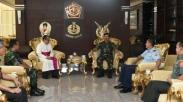Ketemu Uskup Agung Jakarta , TNI Janjikan Ini Demi Perdamaian Umat Beragama