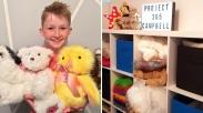 Salutnya! Bocah 12 Tahun Ini Bagikan Boneka Buatannya Sendiri ke Anak Pengidap Kanker