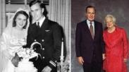 Cinta Mantan Presiden AS Ini ke Istri Tak Lekang Meski Kulit Keriput dan Rambut Memutih
