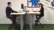 Duduk Seharian di Kantor? Deskcycle Ini Bantu Karyawan Kantoran Kerja Sambil Olahraga Loh!