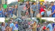 Salut! Duka Bom Surabaya Tak Halangi Pemuda Gereja Ini Berbagi Kasih Lewat Takjil