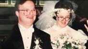 Duh Langgengnya, Pasangan Down Syndrome Ini Rayakan Anniversary Pernikahan ke-25 Tahun