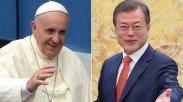 Ke Vatikan, Ini Pesan Presiden Korsel dari Kim Jong-un Untuk Paus Fransiskus