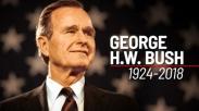 Keluarga dan Teman-temannya Puji Teladan Iman & Sifat Memberi George Bush Semasa Hidupnya