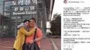 Sebulan Ditinggal Meninggal Suami, Aktris Tracy Lee Posting Kenangan Pakai Lagu Rohani Ini