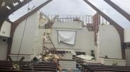 Nyanyikan Lagu Rohani Ini, 40 Anak Selamat dari Gedung Gereja yang Dihantam Tornado