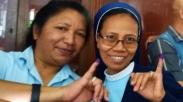 Dua Biarawati Indonesia Ini Rela Tempuh Perjalanan Ratusan Kilo Demi Nyoblos Loh!